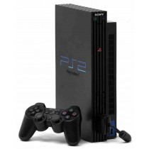 Sony PlayStation 2 [Black, CECH-55008]